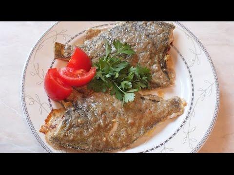 Камбала в духовке простой рецепт очень вкусно