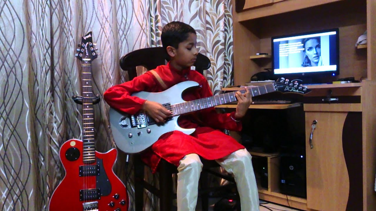 kabhi jo baadal barse from jackpot full guitar cover by rio - YouTube