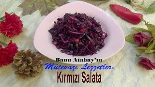 Kırmızı Salata (Salata Tarifleri)