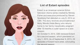 List of Extant episodes - Wiki Videos
