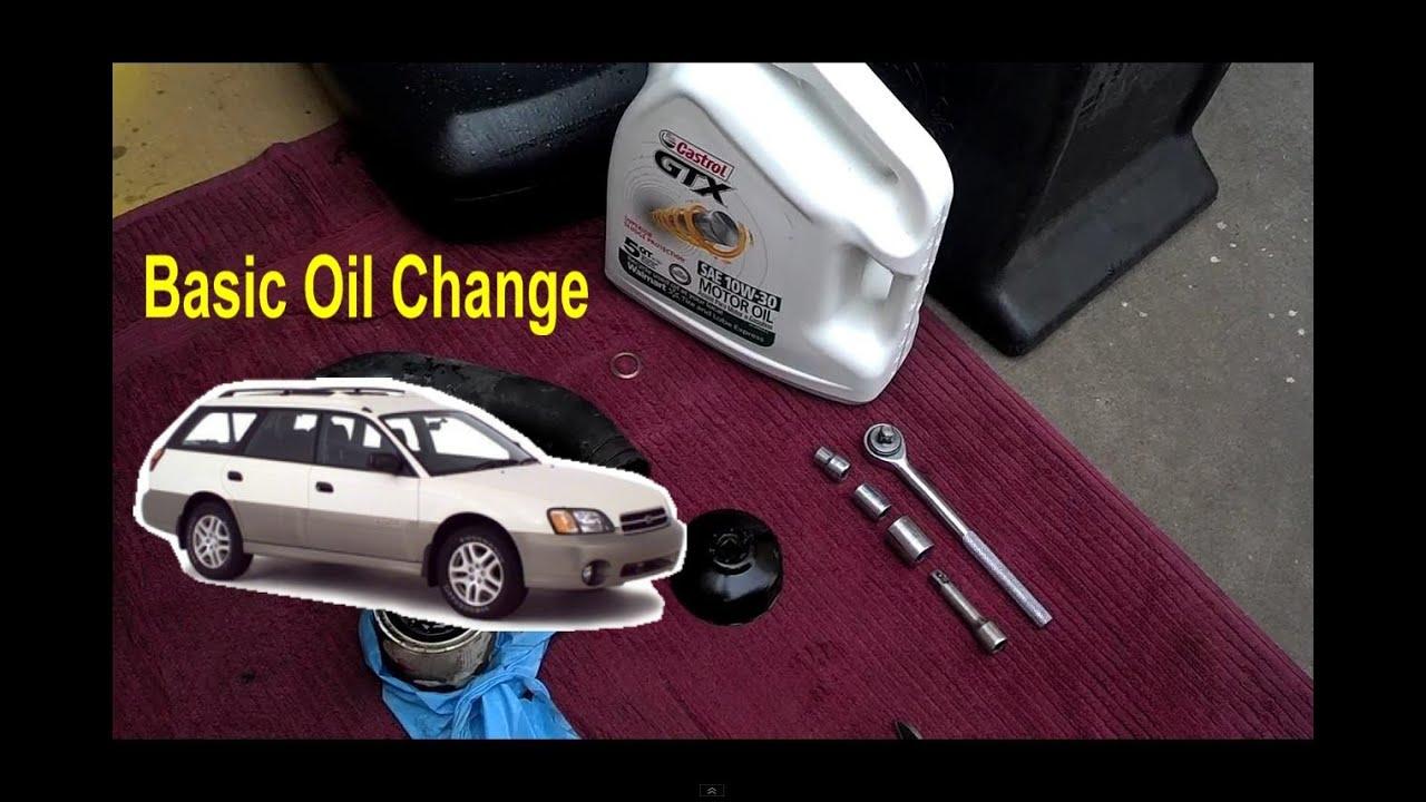 subaru legacy 2000 oil type