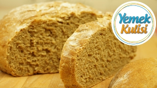 Evde Tam Buğday ekmeği yapımı