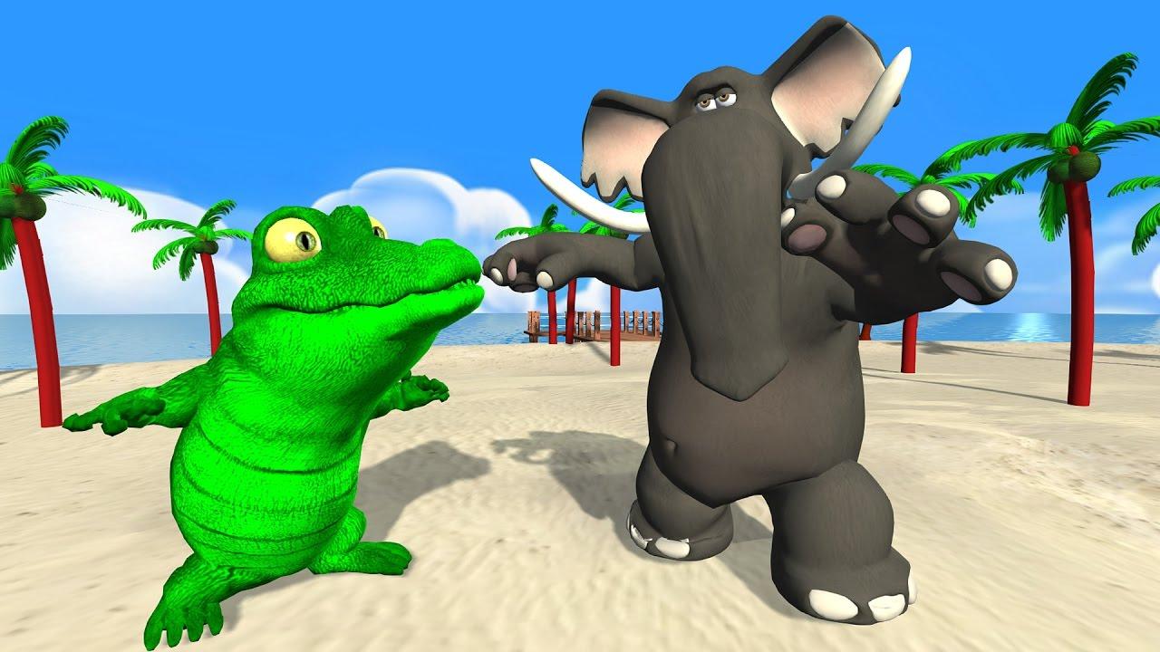 Ah les crocodiles comptines et chansons pour enfants dessin anim fran ais comptines - Dessin anime crocodile ...