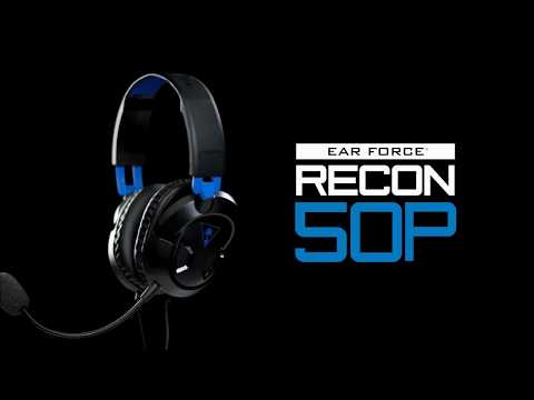Smyths Toys - Turtle Beach Ear Force Recon 50P Headset PS4