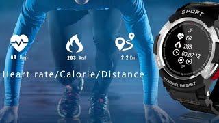 Смарт часы Senbono F6 (Smart watch) с алиэкспресс за довольно не высокую цену