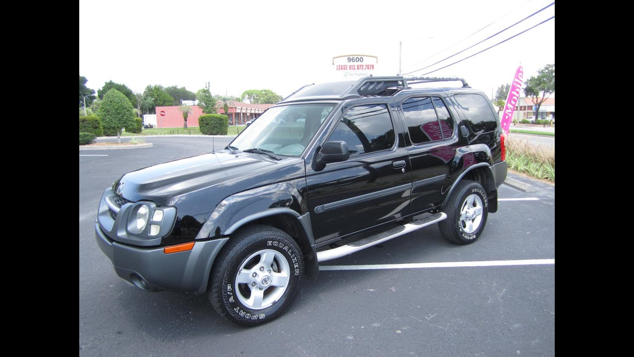 Sold 2004 Nissan Xterra Xe V6 74k Miles Meticulous Motors
