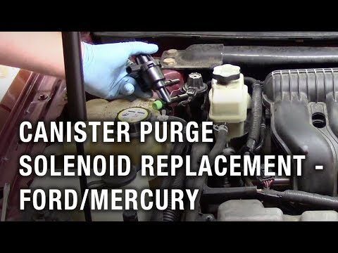 Canister Purge Solenoid Replacement - Ford Taurus/Mercury