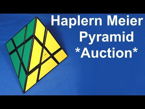 Tony Fisher's Halpern Meier Pyramid Puzzle (past Auction)