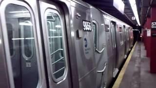 IND Sixth Avenue Line: R160A M Train@57th Street
