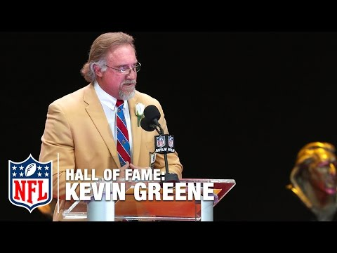 "Kevin Greene ""Bo Jackson Ran Me Over"" | 2016 Pro Football Hall of Fame | NFL"