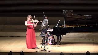 "Martha Argerich, piano, Maria Solozobova, violin, Beethoven ""Kreutzer"" sonata no. 9"
