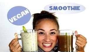 Eiweißshake selber machen - Veganer Smoothie - Protein Drink - Muskelaufbau