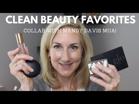 MY FAVORITE CLEAN BEAUTY PRODUCTS  GRWM  | COLLAB WITH MANDY DAVIS MUA!