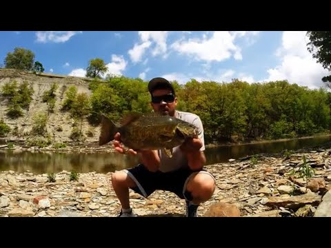 Rocky River Smallmouth Fishing