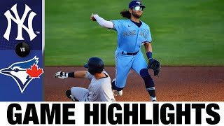 Yankees vs. Blue Jays Game Highlights (4/13/21) | MLB Highlights