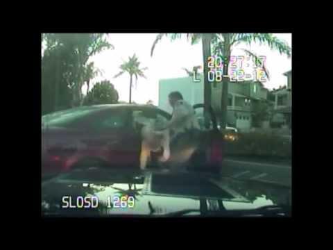 Adam Thinger Arrest Video- SLO County