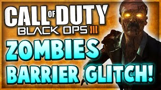 Black Ops 3 Zombies Glitches - New Barrier Glitch On Plant! (Zetsubou No Shima)