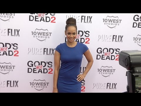 """Tammy Townsend """"God's Not Dead 2"""" Premiere Red Carpet"""