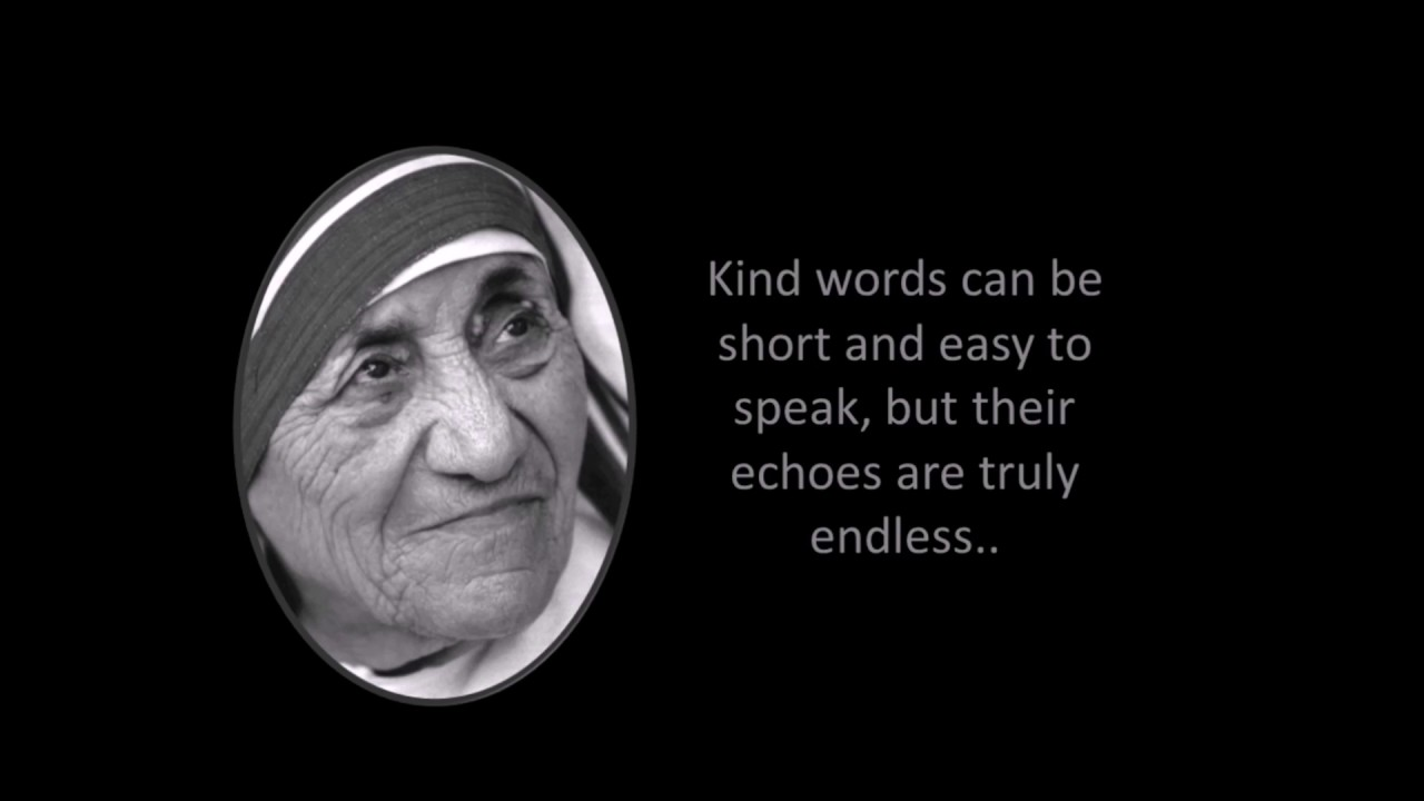 Quotes about humanity, love and peace by Mother Teresa 1 ...Quotes About Love For Humanity