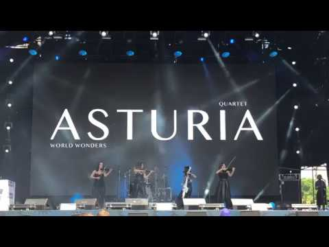 Michael Jackson cover - Asturia live UEFA 2018