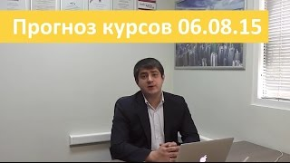 Аналитика форекс на сегодня от Владимира Чернова 6 августа 2015 прогнозы по рынку Форекс на сегодня