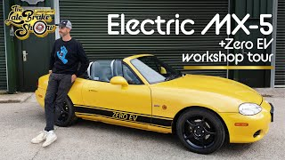 EV swapped Mazda Miata MX5 // The Late Brake Show