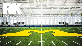 We Toured the MICHIGAN WOLVERINES' FOOTBALL Facility | Royal Key | coiski