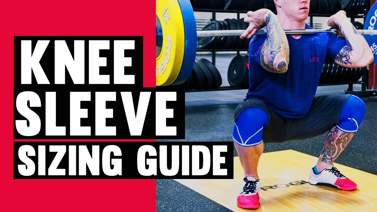 How To Determine Your Rehband Knee Sleeve Size
