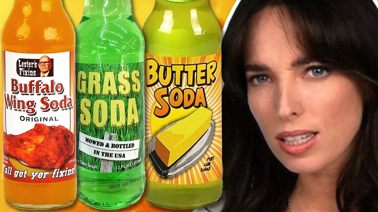 Irish People Try Weird Soda Flavours