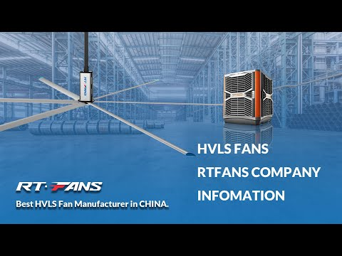 RTFANS 24ft Large High Quality Fan with Industrial Cooling ...