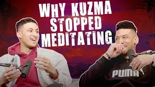 Why Kyle Kuzma is done with meditating before games