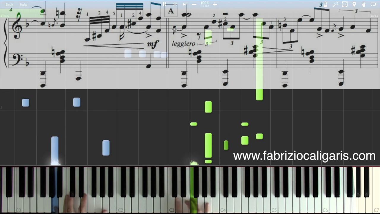Summertime - Piano cover - Tutorial - PDF - MIDI