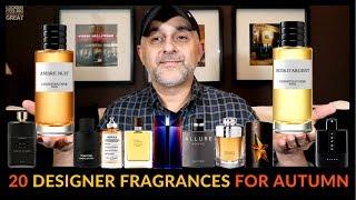 Top 20 Fall Designer Fragrances, Colognes 2018   Favorite Autumn Fragrances