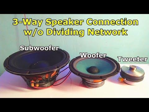 how-to-wire-3-way-speaker-w/o-dividing-network,-tweeter-,woofer,-subwoofer-wiring-setup