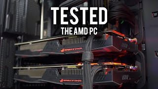 benchmarking the amd pc did it explode part 2