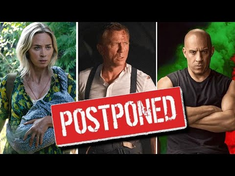 Every Movie Officially Postponed As of Now