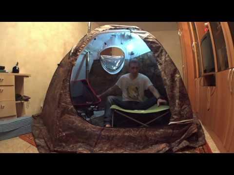 универсальная палатка зима-лето и печь экономка пф Берег для вело-водных и пеших походов