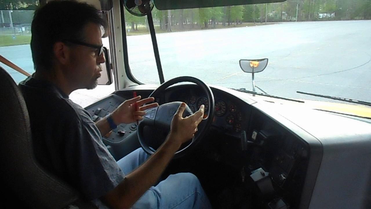 28 Air Brake Test School Bus Class B Cdl Youtube