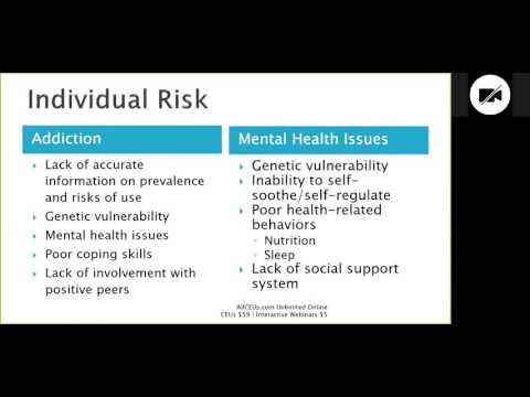 What are the Risk Factors for Co Occurring Disorders