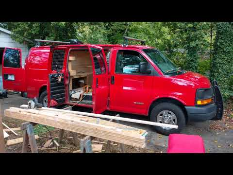 Chevy Express Work Van To Stealth Camper Van Conversion EP1