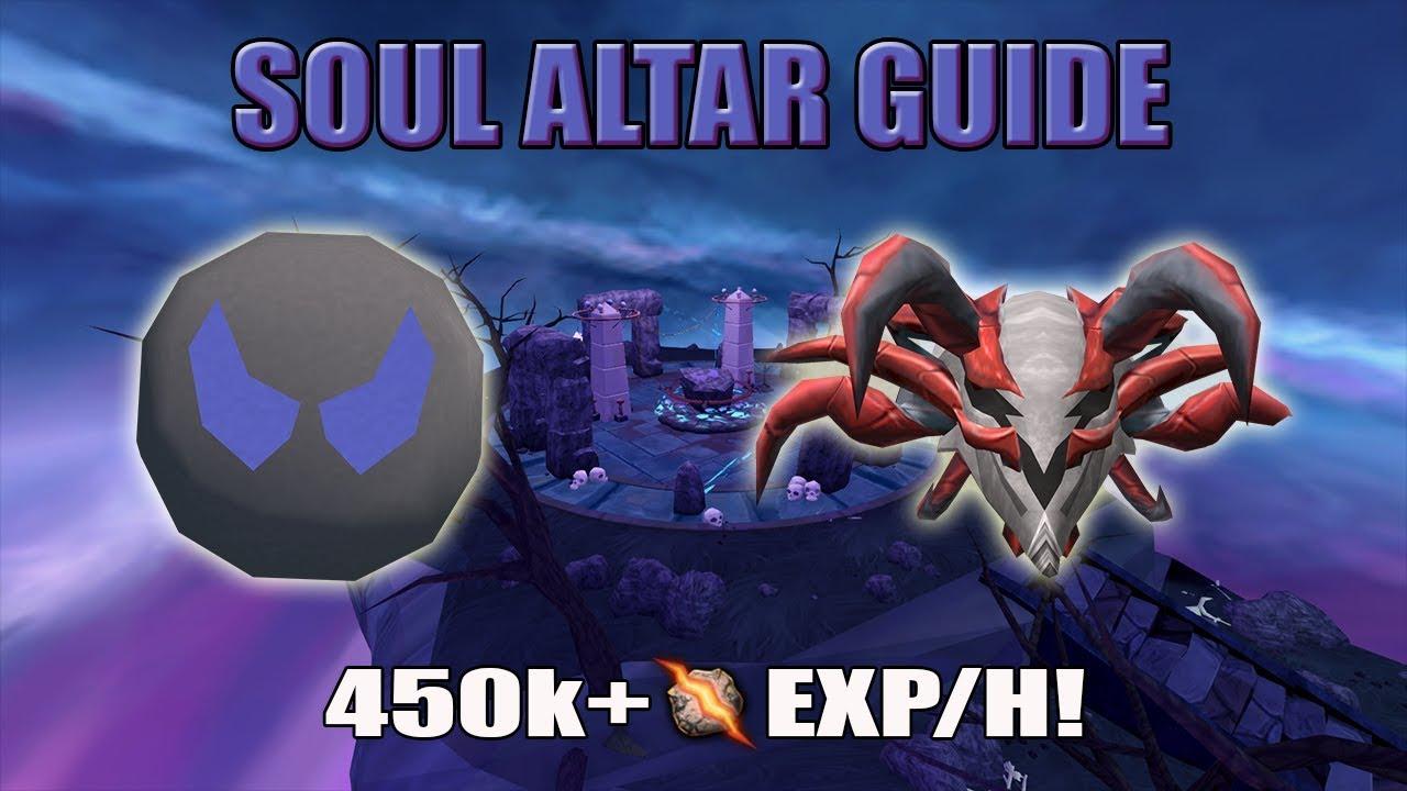 Soul Altar Guide 2018/2019 | 450k+ Runecrafting Exp/h! [Runescape 3]