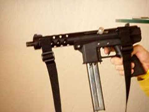 Maruzen TEC-9 Gas Blowback Machine Pistol #2