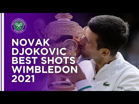 Novak Djokovic Best Shots of Wimbledon 2021