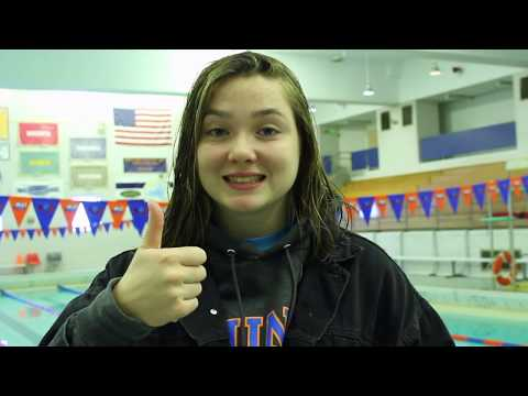 SUNY New Paltz Swimming SUNYAC's Training Routine: Kelly Donlevy