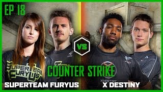 EP 18 | COUNTERSTRIKE | Syndicate and OMGitsfirefoxx vs TmarTn and runJDrun | Legends of Gaming