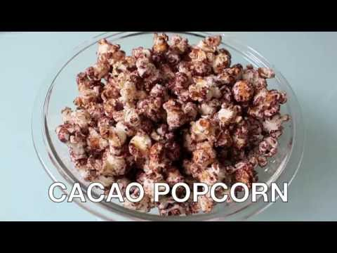 Sweet & Easy Cacao Popcorn Recipe