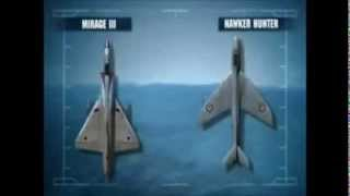 Иордания Израель Israel Jordan Dogfight Israeli Air force & Royal Jordanian Air Force in year 1966