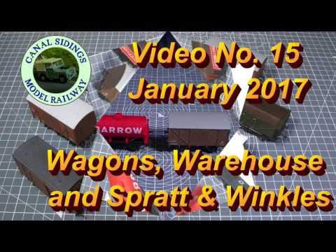 Canal Sidings 15 Wagons Warehouse and Spratt & Winkles