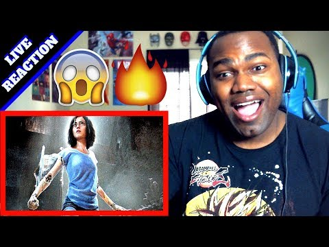 ALITA: BATTLE ANGEL Official TRAILER | REACTION