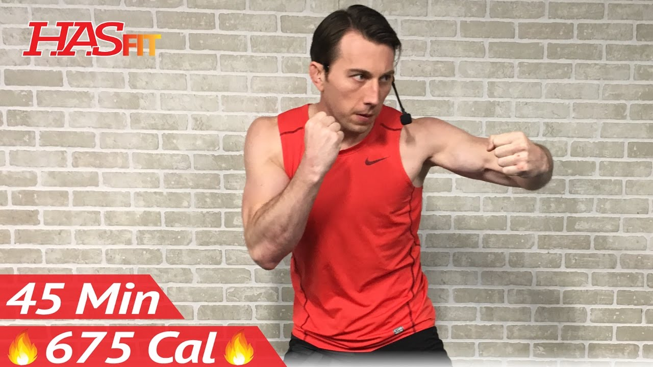 45 Min Ultimate Cardio Kickboxing Workout Mma Training Ufc